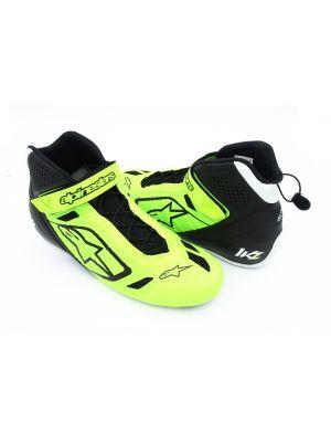 Schuhe Alpinestars Tech-1 KZ gelb-fluo-schwarz 43